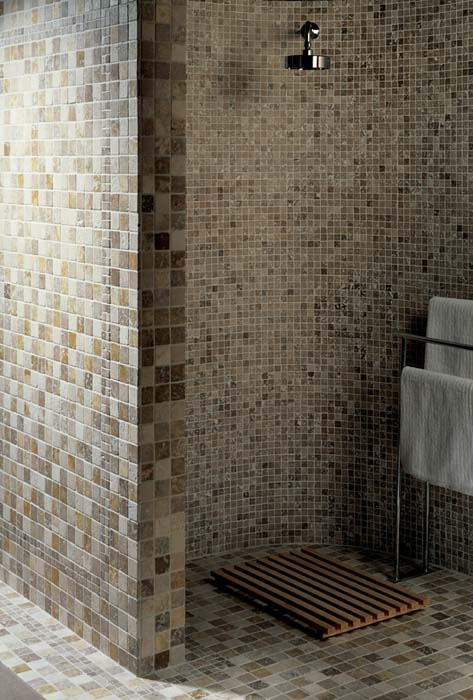 Original Style - Earthworks - Mosaics - Venetian Mixed travertine